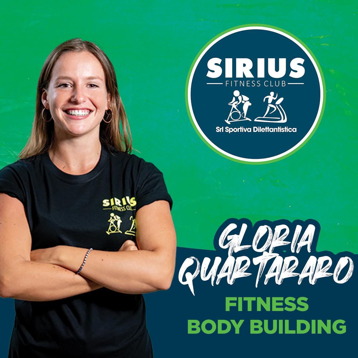 istruttrice di fitness e body building