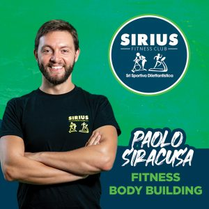 istruttore di fitness e body buiding