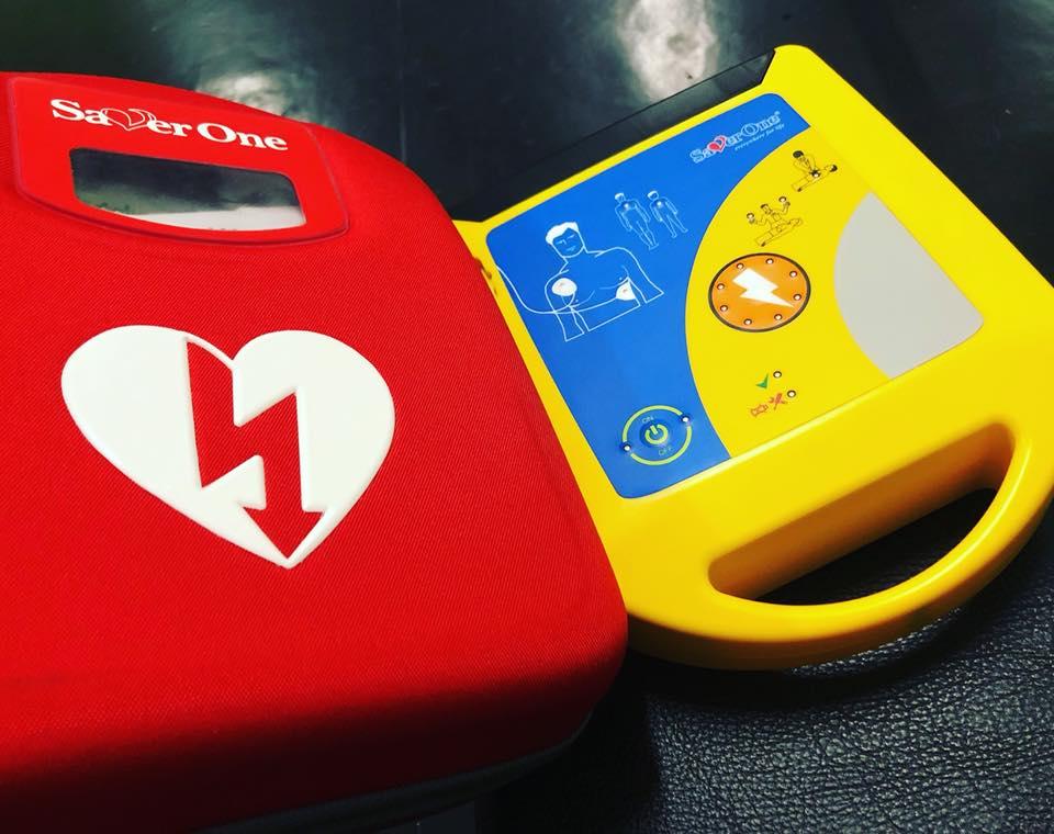 defibrillatore per palestre