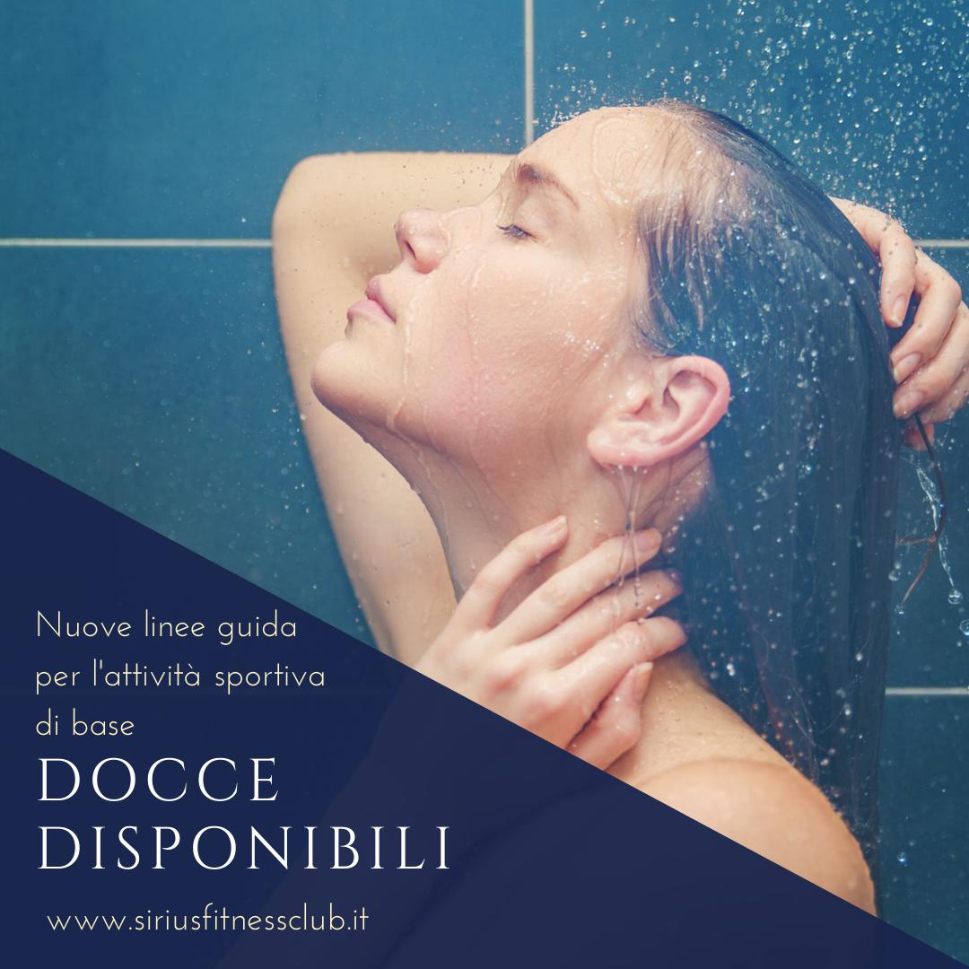 docce disponibili palestra